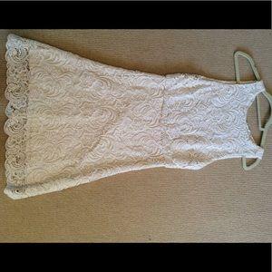 ingrid sleeveless a line dress